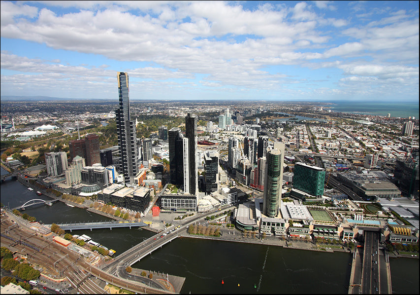 9093789 Melbourne Aerial, available in multiple sizes