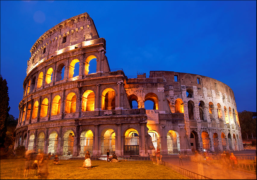 9856207 Colosseum at Night, available in multiple sizes