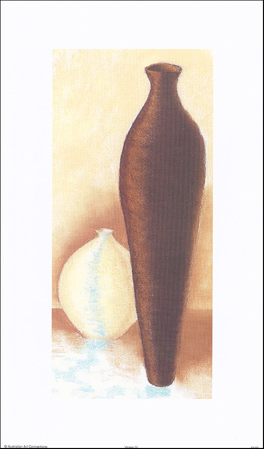 AAC FA09 Vases IV by Fiona Anderson 25x43cm on paper