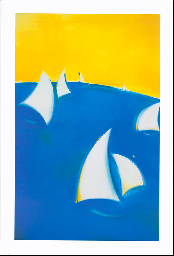 AAC JP003 Under Sail 1 by Jennifer Penglaze 61x90cm on paper