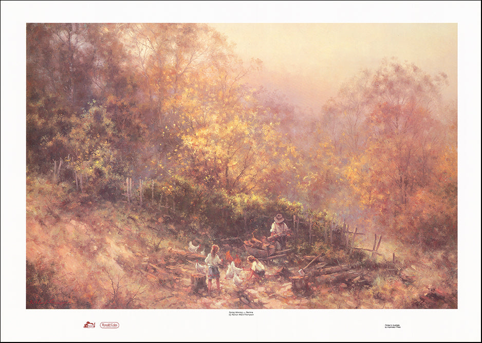 AAC RWT0115 Spring Morning by Ramon Ward Thompson multiple sizes on paper