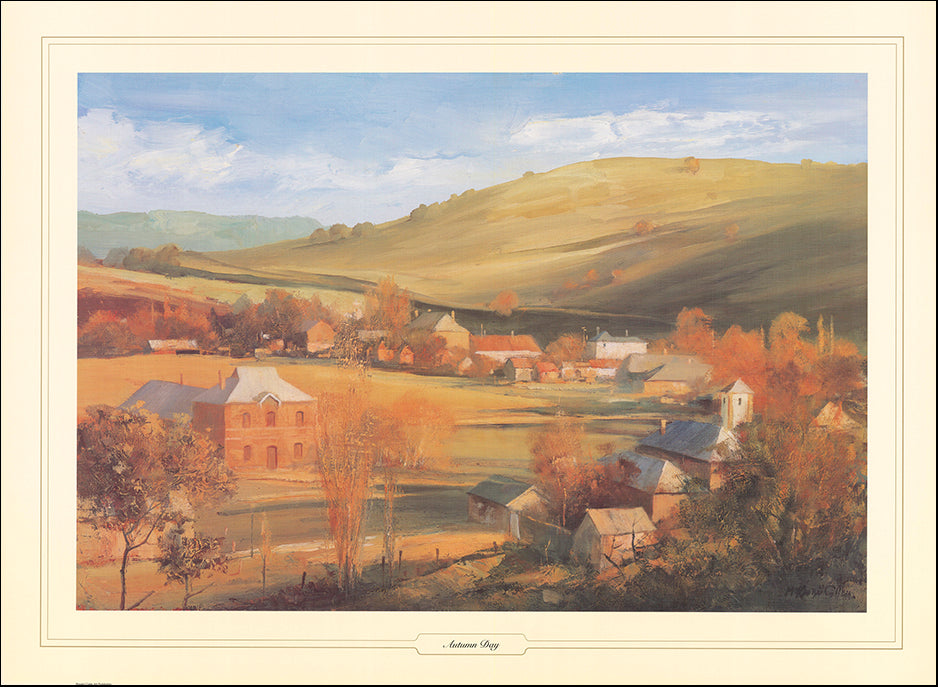 AAC SMC199 Autumn Day by Stuart Mc Kenzie Cullen multiple sizes on paper
