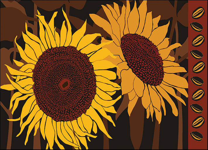 ALIZOE110027 Tournesol I, by Art Licensing Studio, available in multiple sizes