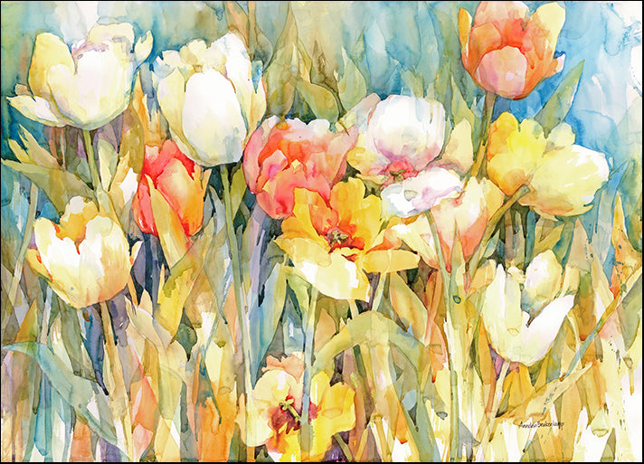 ANNBEU71007 Tulip Team, by Annelein Beukenkamp, available in multiple sizes