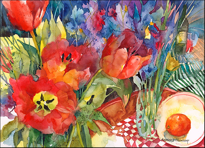 ANNBEU85667 Nature's Bounty, by Annelein Beukenkamp, available in multiple sizes