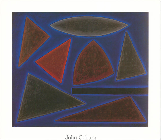 AW GEO3573 St Louis Blue by John Coburn 80x70cm on paper