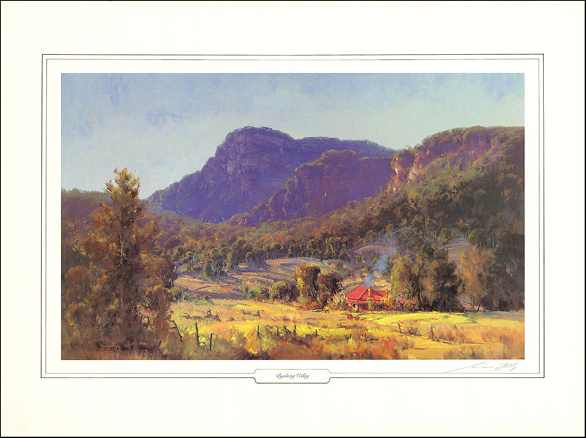 AW LECH2 Byalong Valley LE 950 by Chris Huber84x64cm on paper