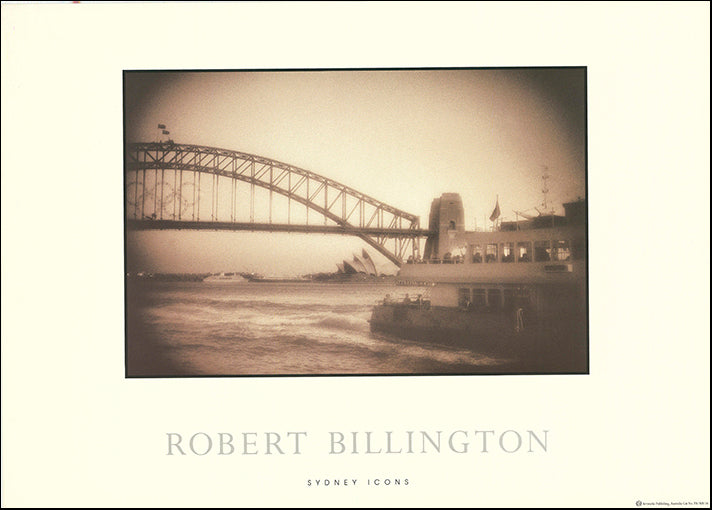 AW RB116 Sydney Icons by Robert Billington,  50x70cm on paper