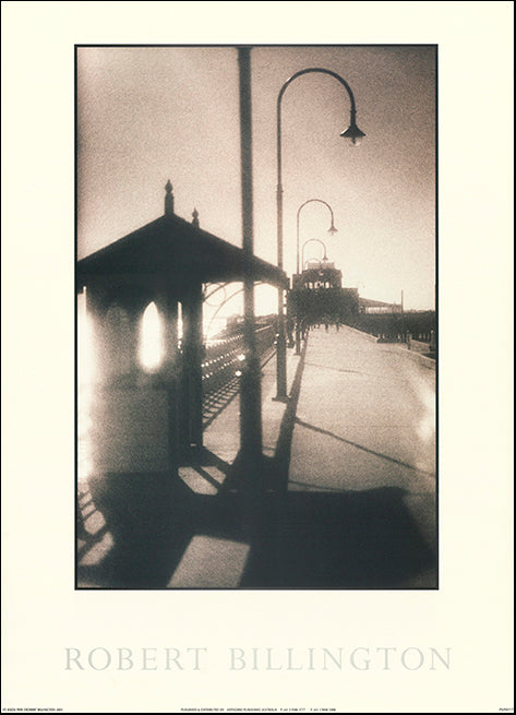 AW RB117 St Kilda Pier by Robert Billington 50x70cm on paper