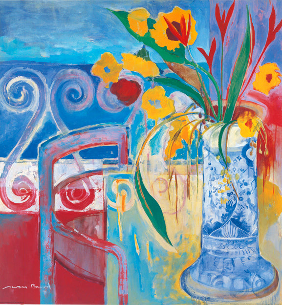 AW SB589 Susans Sunroom 1 by Susan Baird 68x72cm on paper