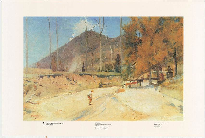 AW TR209 On the Timbara by Tom Roberts 1895 to 1931 101x68cm on paper