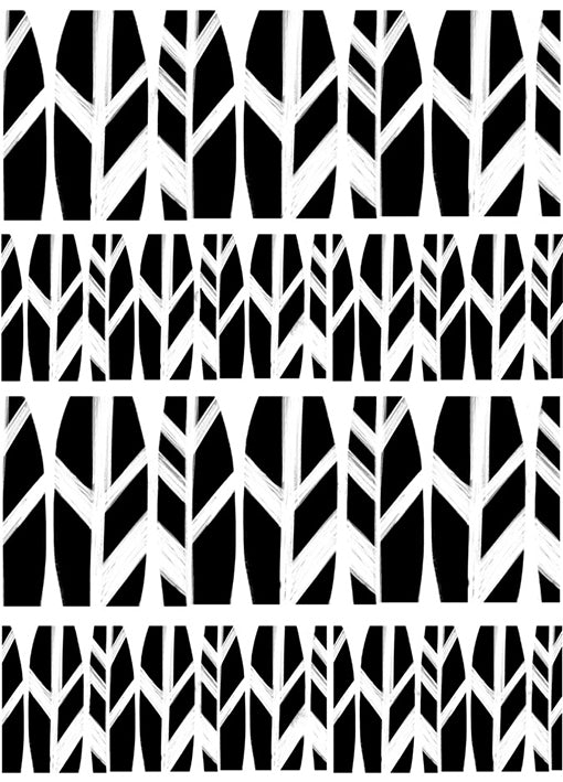 101864 Leaf Patterns, by Biehle, available in multiple sizes