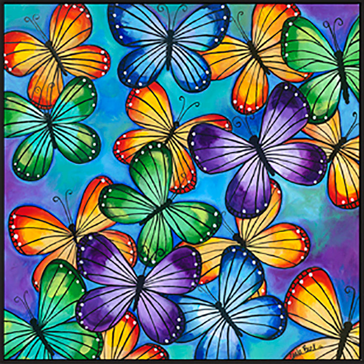CARBAR130119 Colourful butterflies, available in multiple sizes