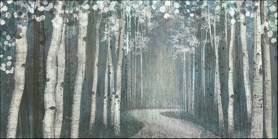 CA 13390 Mineral Forest by Tandi Venter 91x45cm on paper
