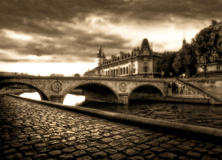 Cook,82669 Bridge on The Seine, by Jamie Cook available in multiple sizes