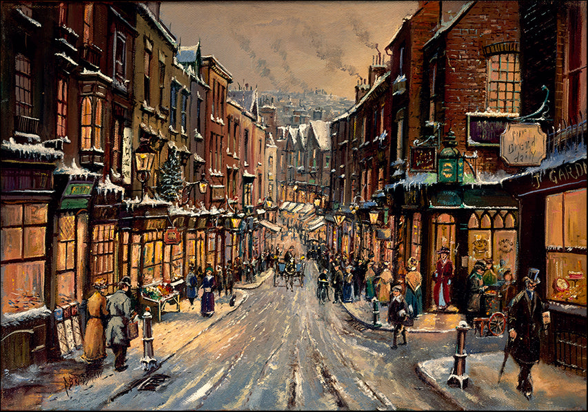 DDFA 2901 Traditional Street Scene, available in multiple sizes