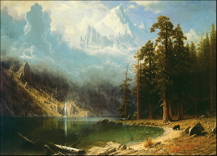 DP-117302 Mount Corcoran, by Albert Bierstadt available in multiple sizes