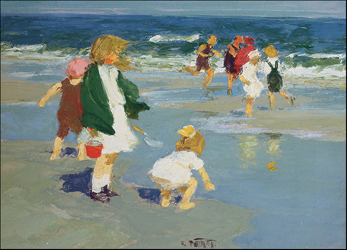 DP-117329 Kiddies, by Edward Henry Potthast available in multiple sizes