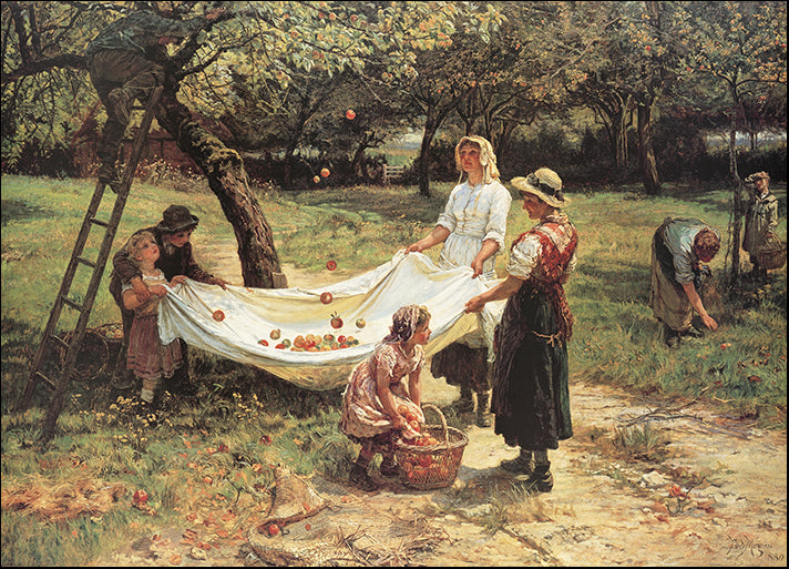DP-12091 The Apple Gatherers, by Frederick Morgan available in multiple sizes