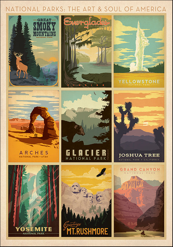 JOEAND116290 National Parks : The Art & Soul of America, available in multiple sizes