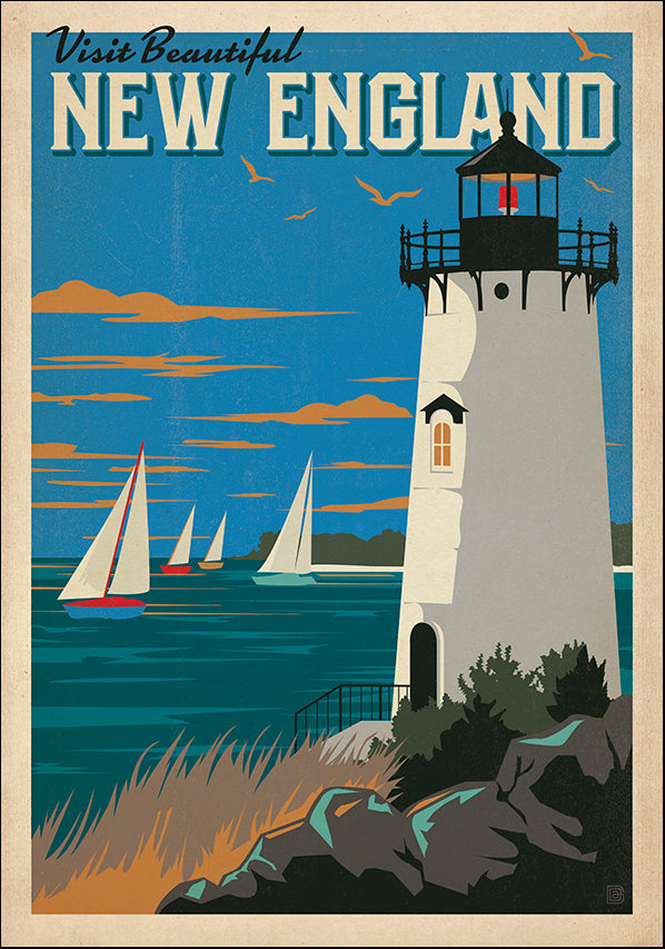 JOEAND116357 Visit Beautiful New England, available in multiple sizes