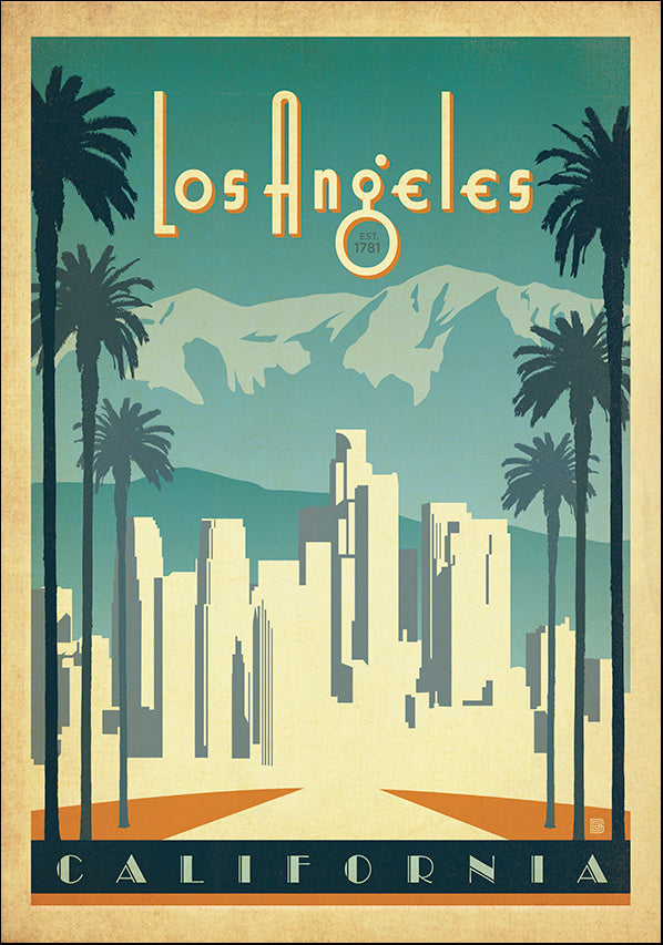 JOEAND128563 Los Angeles California, available in multiple sizes