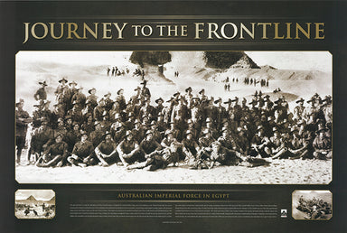 Journey to the FrontLine 90x60cm paper - Chamton