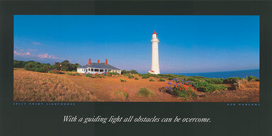 Ken Duncan KDI311 Split Point Lighthouse 60x30cm paper - Chamton