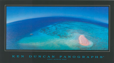 Ken Duncan KDM404 Great Barrier Reef 40x22cm paper - Chamton