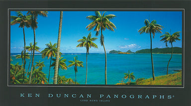 Ken Duncan KDM419 Lord Howe Island 40x22cm paper - Chamton