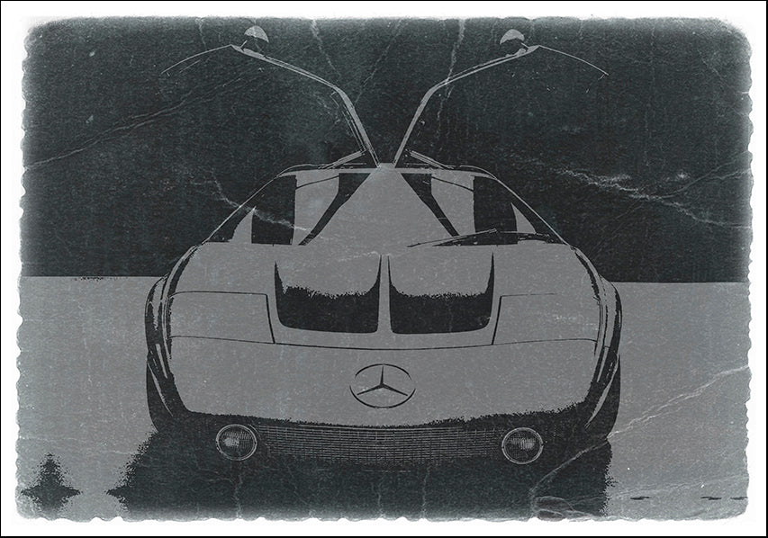 NAXART113162 Mercedes-Benz C111 Concept, available in multiple sizes