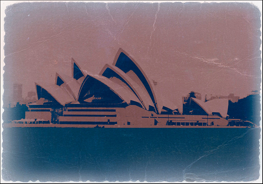 NAXART119020 Sydney, available in multiple sizes