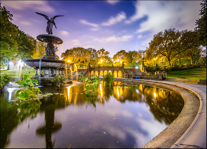 h9480519 New York City USA at Bethesda Fountain, available in multiple sizes