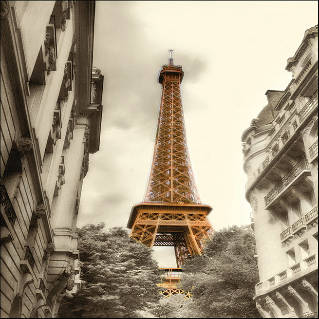 QPD-SQ-015_EiffelTower, To colour the Eiffel Tower  , available in multiple sizes