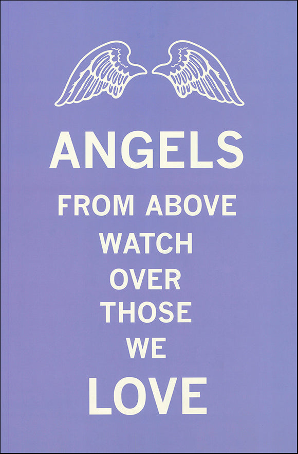 R SPQ5579 Angels from Above by The Vintage Collection 40x60cm on paper