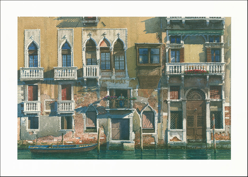 R SPT8528 Palazzo Barbarigo by Jonothan Pike 70x50cm on paper