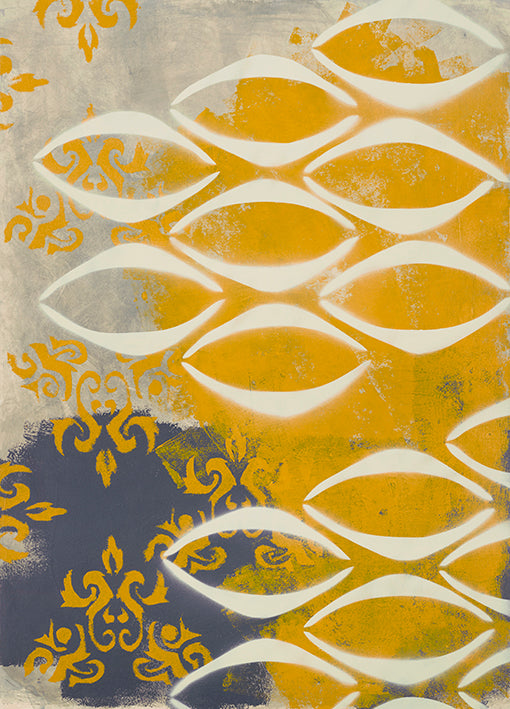 98828 Yellow Pintura 3, by Rativo, available in multiple sizes