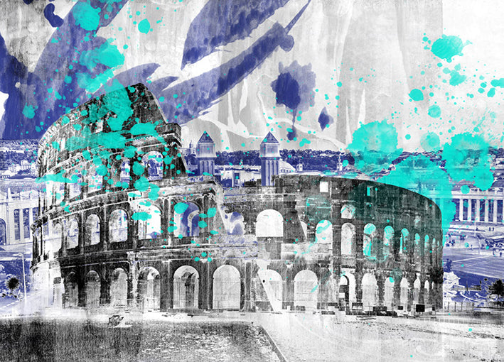 91671 The Colosseum, by THE studio, available in multiple sizes