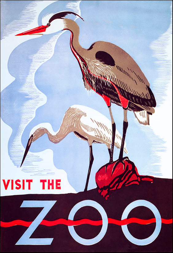 VINAPP114472 Visit the Zoo, available in multiple sizes
