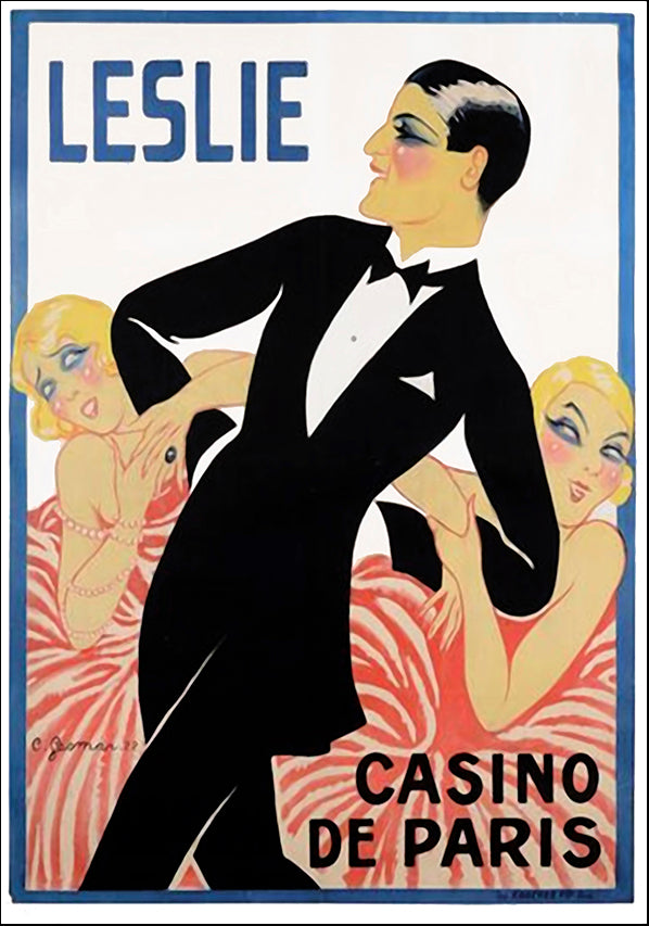 VINAPP116920 Leslie Casino de Paris, available in multiple sizes