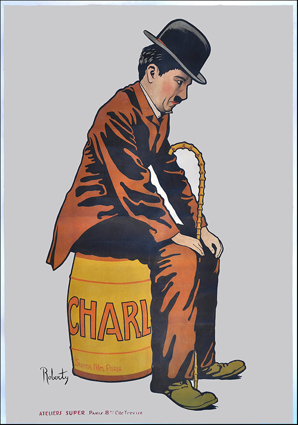 VINAPP118462 Charlie Chaplin, available in multiple sizes