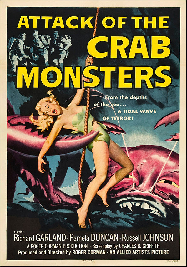 VINAPP118463 Attack of the Crab Monsters, available in multiple sizes