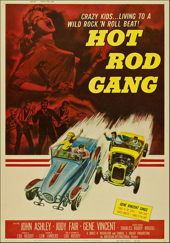VINAPP118475 Hot Rod Gang Movie, available in multiple sizes