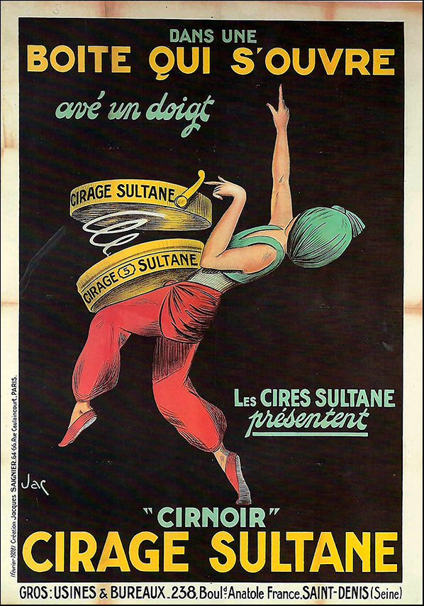 VINAPP121002 Cirnoir Cirage Sultane, available in multiple sizes