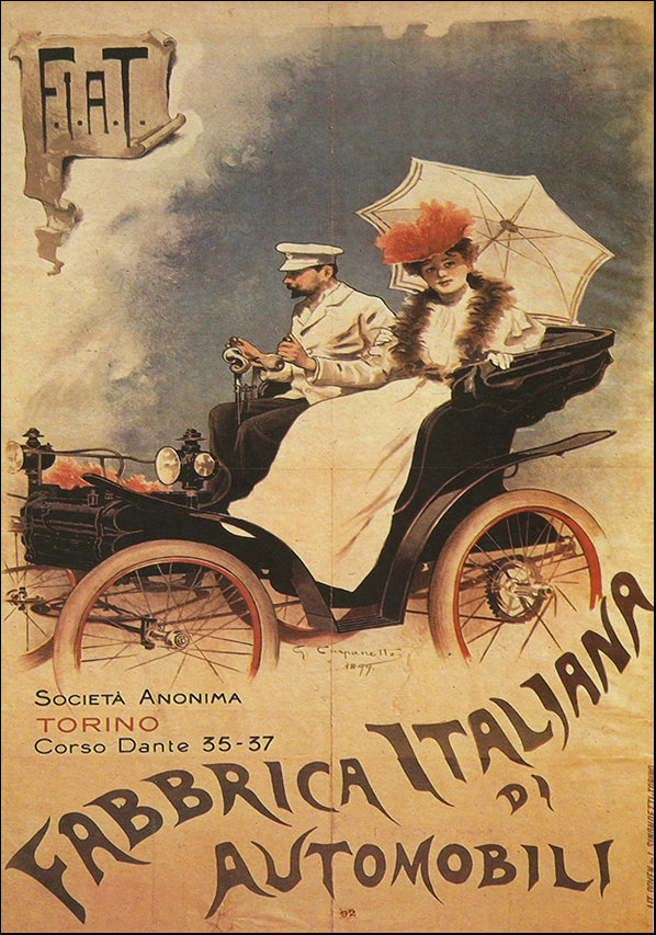 VINAPP121017 Fabrbricca Italiana Automobili, available in multiple sizes