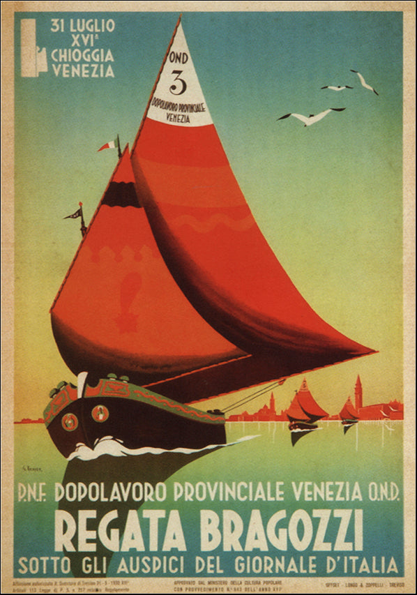 VINAPP121056 Regata Bragozzi, available in multiple sizes