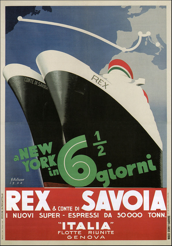 VINAPP121059 Rex & Conte di Savoia Italia, available in multiple sizes