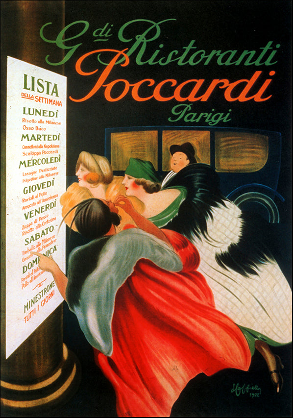 VINAPP121409 Ristoranti Poccardi Parigi , available in multiple sizes