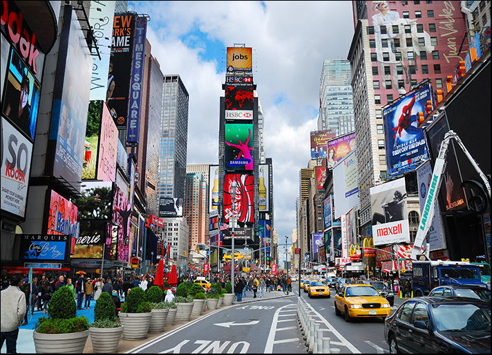 b6078552 Times Square New York City USA, available in multiple sizes