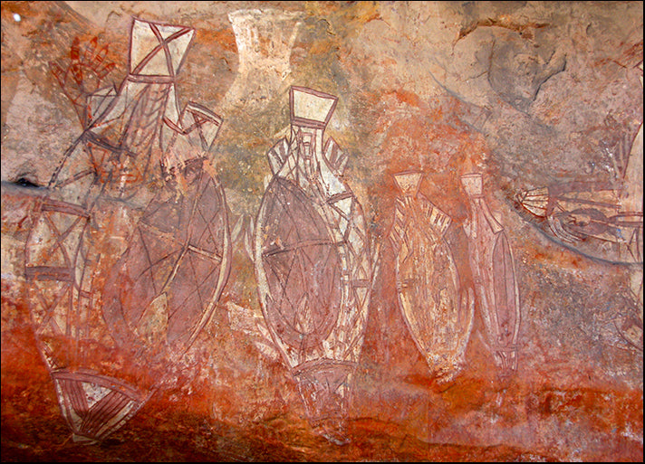 i3352538 Ubirr, Kakadu National Park aboriginal australian art, available in multiple sizes